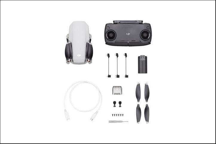 Kelengkapan DJI Mavic Mini Basic